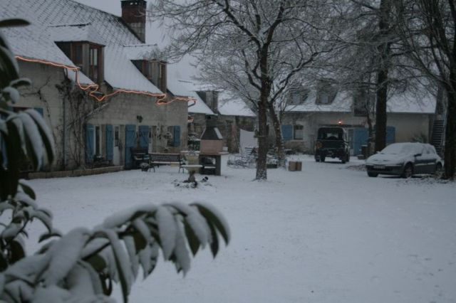 Deep and crisp and even. Spend Christmas in Héron!