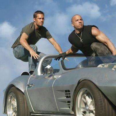 Paul Walker & Vin Diesel sweet