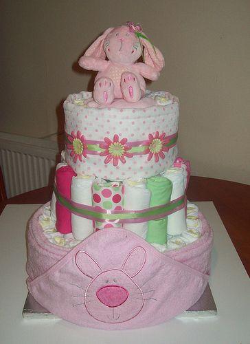 Nappy Cake 6 | Flickr - Photo Sharing!