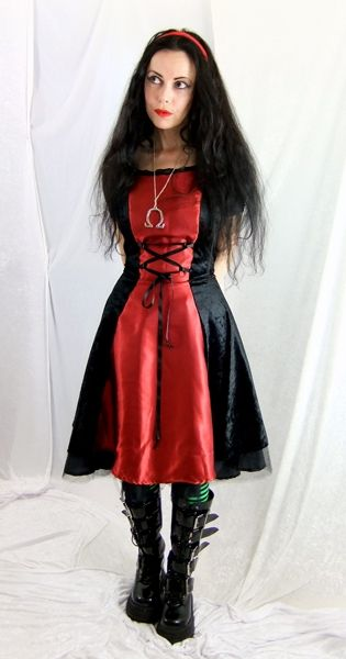 Maliceaen Mini Dress by Moonmaiden Gothic Clothing UK