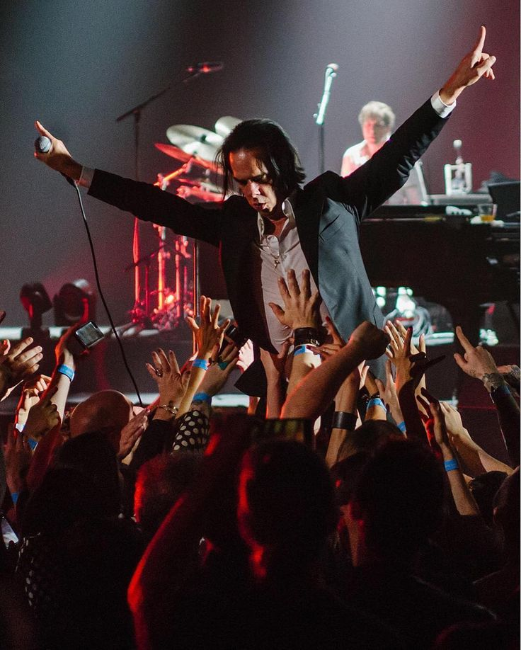 """Nick Cave (@nickcaveofficial) on Instagram: """"Kings Theatre, Brooklyn, NY (photo by @londonisburning)"""""""