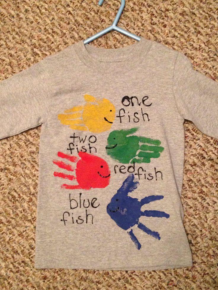 Handprint Dr. Seuss shirt