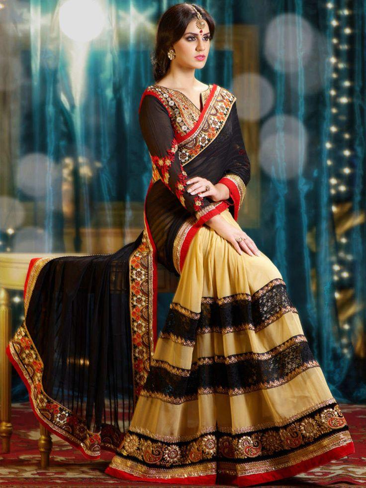 Latest Indian Saree & Blouse Designs Catalogue 2015-16