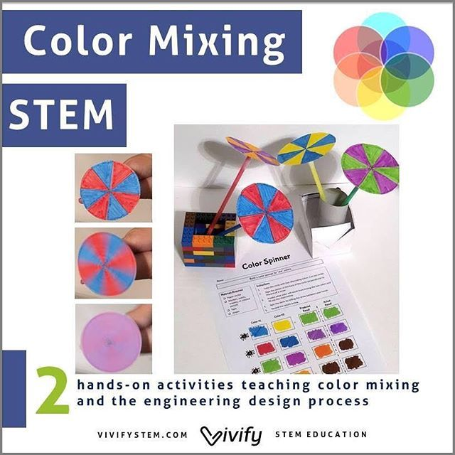Color Mixing Stem This Was An Activity Created By My 5 Year Old Daugter Who Elementary Stem Activities Learning Colors Activities Stem Activities Preschool