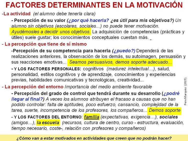 ¿Cómo motivar a los alumnos?