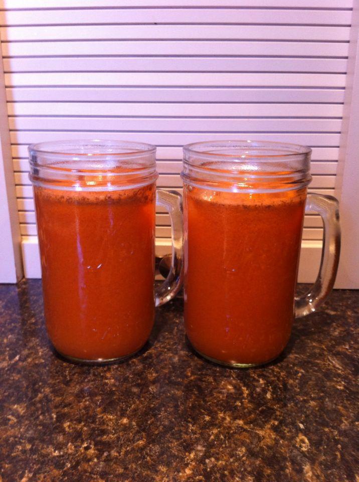Day 3 Drink #4 Carrot-apple-lemon