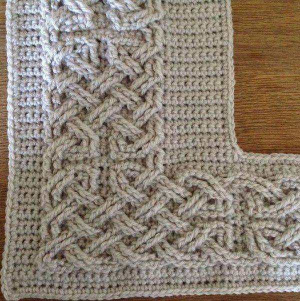 Mejores 157 imágenes de Cables crochet ,knit en Pinterest   Puntadas ...