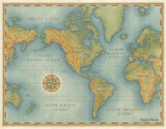 dibujos de mapamundi para imprimir