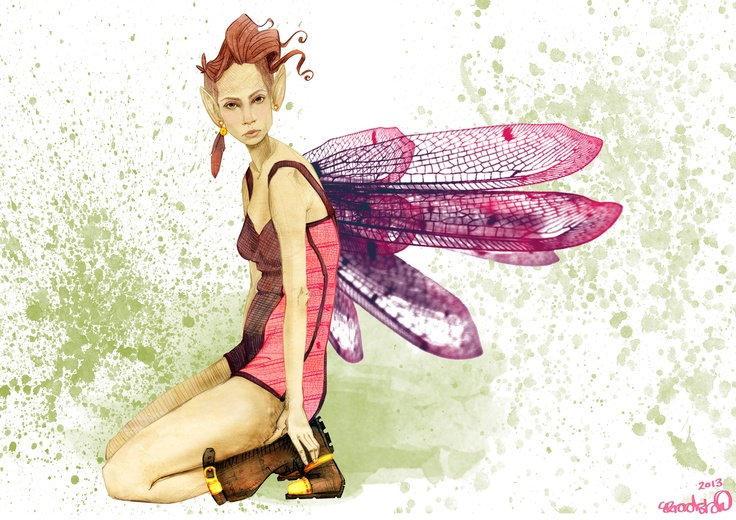 one of many fairies