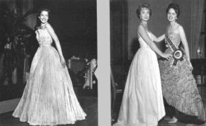 """Miss Elegante Bangu """" """"Nos anos 1950, o desfile que fazia sucesso era mesmo o de Miss Bangu. Eram todas meninas de família. Até a Maricy Trussardi foi. Eu era pequena, tinha 12 ou 13 anos e minha mãe não queria que eu frequentasse""""comenta  Costanza Pascolato .  Coroando o bom momento da indústria, em 1958, Caio de Alcântara Machado realizou a primeira Fenit (Feira Nacional da Indústria Têxtil), que se transformou no maior evento de moda da América Latina ("""