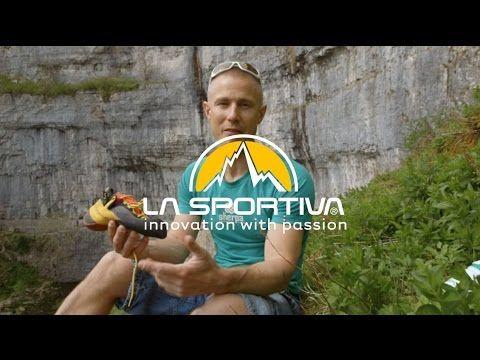 Neil Gresham explains the features of +La Sportiva 's Genius shoe and the benefits of No Edge technology. #rockclimbing #climbing