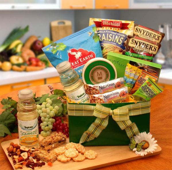 Healthy Gourmet Gift Box | All About Gifts & Baskets