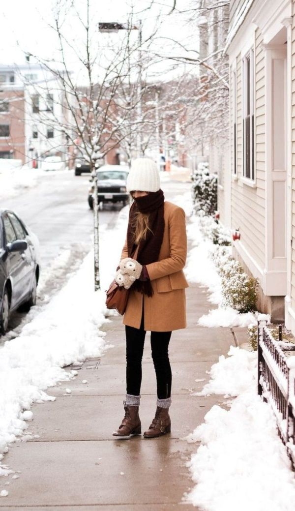 ff6545c5065 What To Wear In The Snow | fashion | Snow day outfit, Stylish winter ...