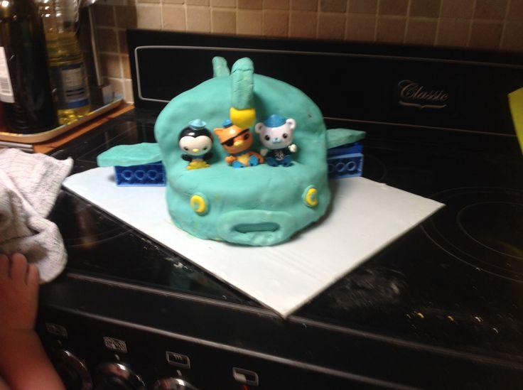 Octonauts gup a cake