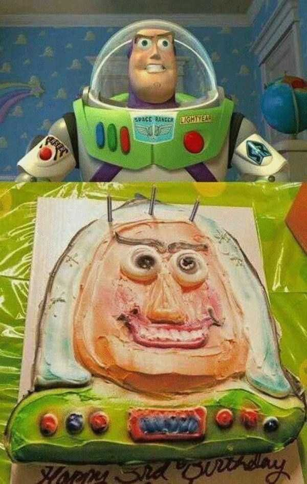Buzz Lightyear  When Your Disney Inspired Cake Goes Horribly Wrong • Page 4 of 5 • BoredBug