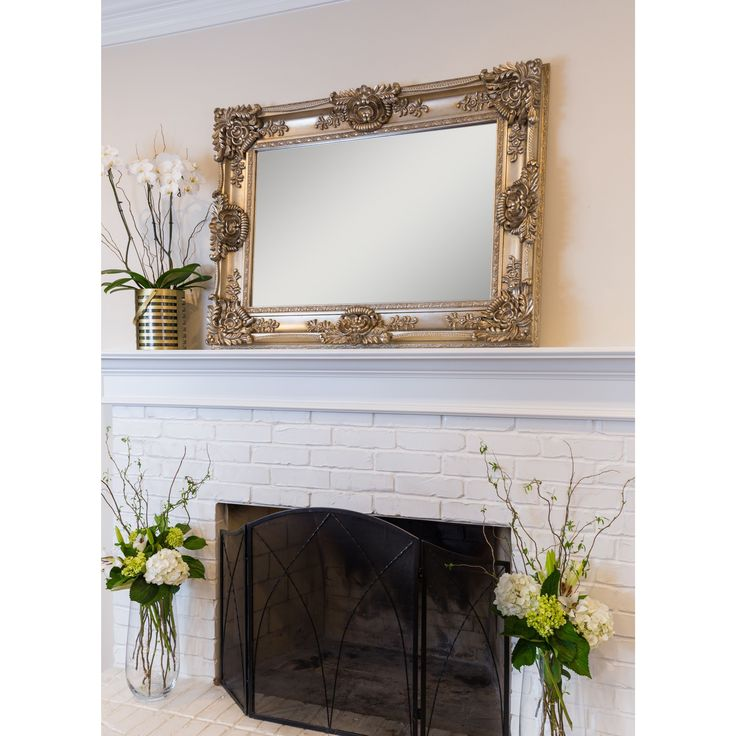 Selections by Chaumont Mayfair Large Wall Mirror Champagne (Beige)