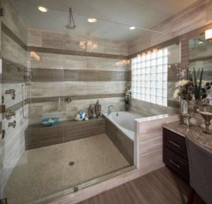 43 Awesome Cozy Master Bathroom Ideas