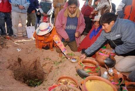 1 de Agosto – Fiesta de la Pachamama