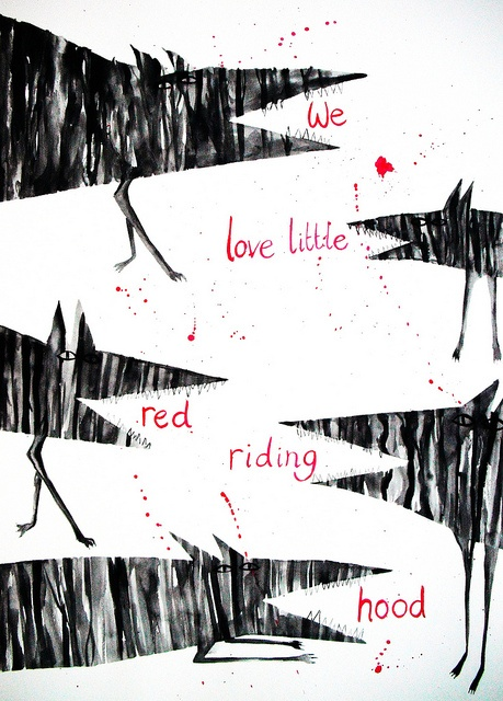 We love Little Red Riding Hood by Hazel Terry
