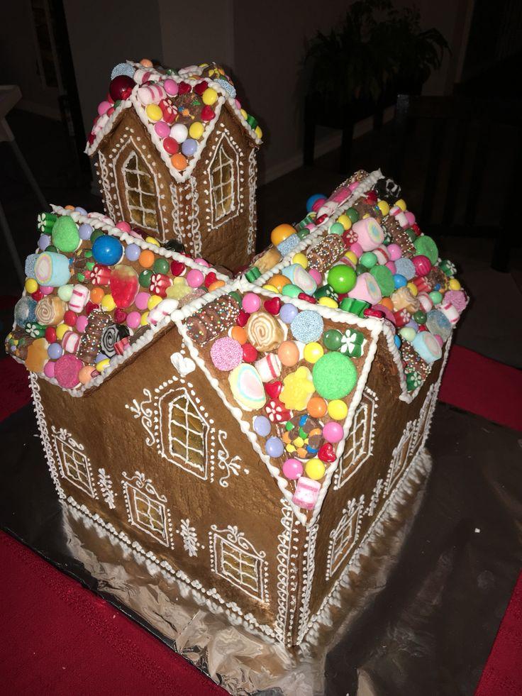 Pepperkakehus  Gingerbread house