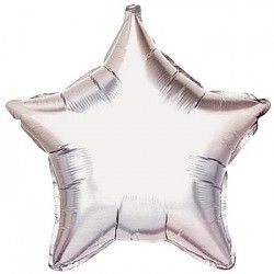 4 Silver Star #Balloons  #Balloon #Delivery #UK
