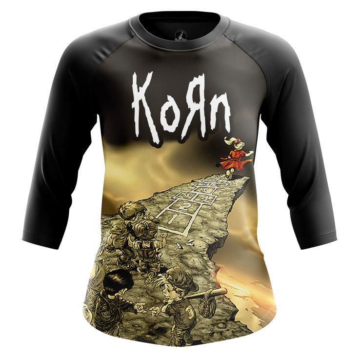 Marvelous Womens Raglan Follow the Leader Korn  Band Clothes – Search tags:  #girlsclothes #girlsraglan #girlstshirts #Kornbandaustralia #Kornbandbuy #Kornbandcanada #Kornbandcollectibles #Kornclothes #Kornmerchandise #Kornshirts #Kornstuff #Korntshirt #musicmerch #popbands #raglantshirtfemale