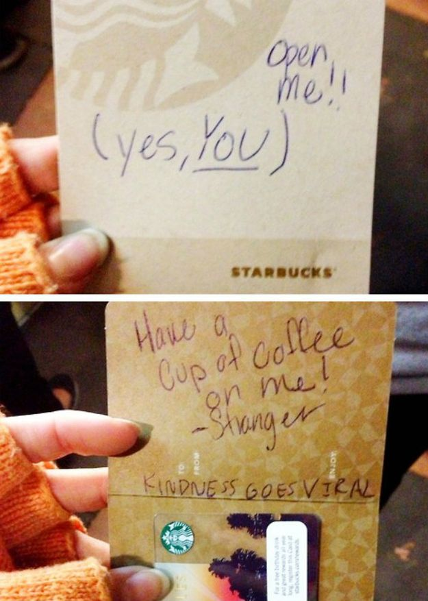 11 Sweet & Random Acts Of Kindness