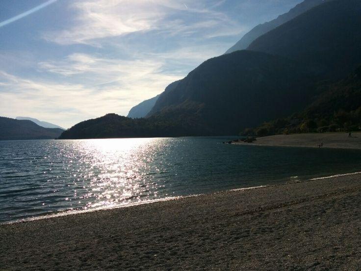 Spiaggia Molveno nel Molveno, Trentino - Alto Adige
