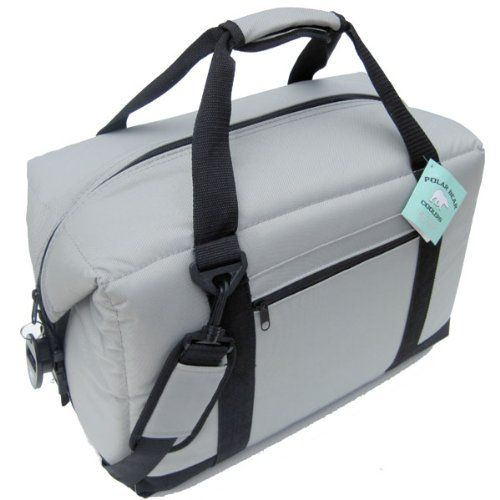 This Top-Rated Men's Insulated Lunch Bag will keep ice for 24 hours in 100 degree heat and will keep hot up to 200 degrees for hours.  Wow!