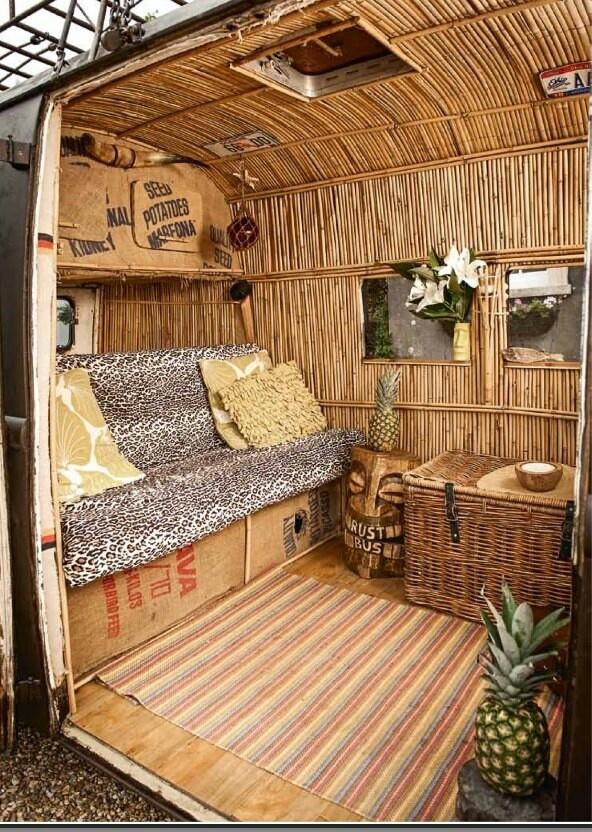 Rv rving camper cool motorhomerothfink tiki rustbus for Vw camper van interior designs
