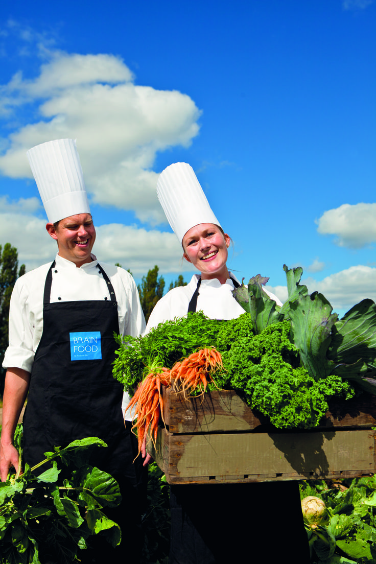 Our skilled chefs choose the best local produce to feed your brain! #brainfood