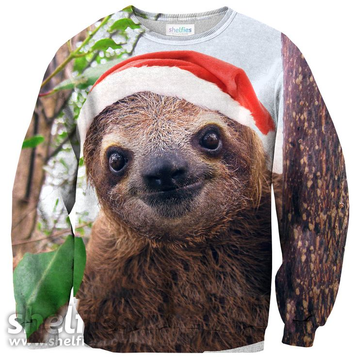 Wish I could get this in time for the ugly Christmas sweater party!