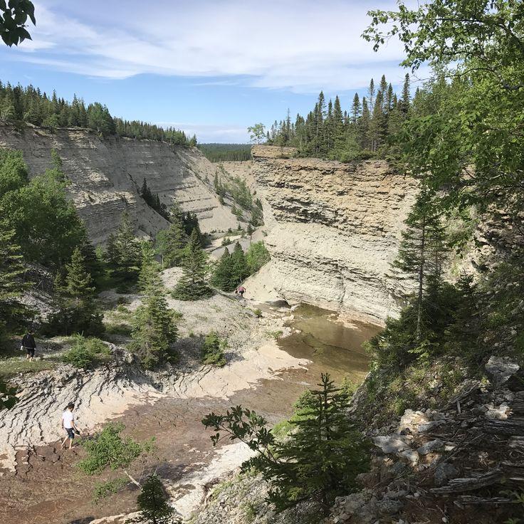 Canyon de la rivière Observation
