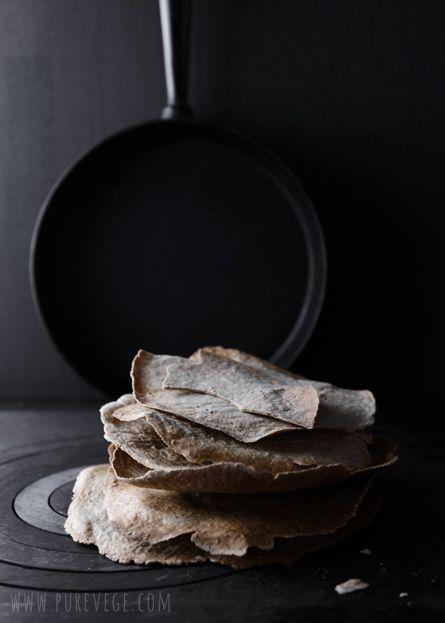 Pure Vegetarian By Lakshmi: Seed Bread & Buckwheat Crisps