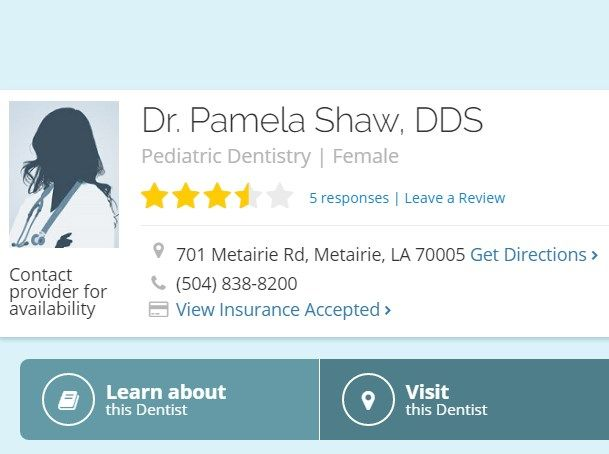 Visit Healthgrades for information on Dr. Pamela Shaw, DDS Find Phone & Address information, medical practice history, affiliated hospitals and more.  https://www.healthgrades.com/dentist/dr-pamela-shaw-x2y4w  #Pamela_Shaw