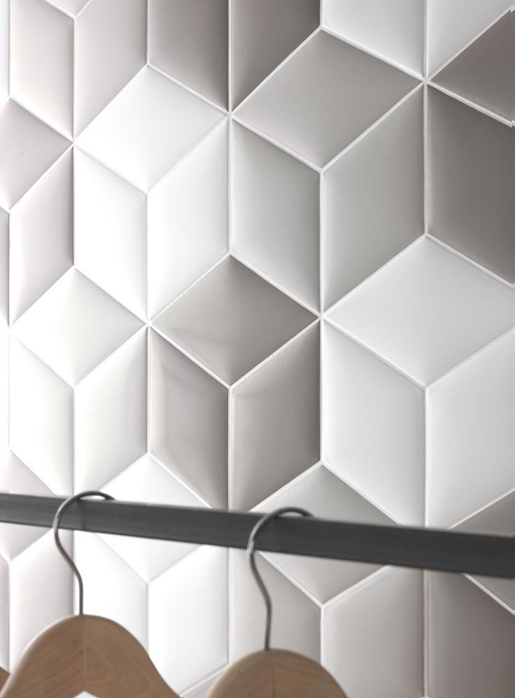 #tonalite collezione #cushion #satin #rombo #rhombus #tiles #piastrelle #shape #pattern #design #arredamento #matt #azulejos #carreaux #rivestimento #walltiles