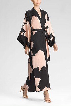 Josie Natori Bold Blossom Robe