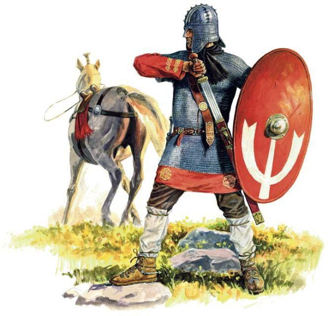 """Roman soldier at the Battle of Adrianople (378)"", Marek Shishko"