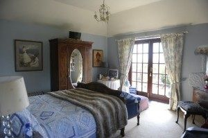 5 star luxury B&B at Ednovean Farm in West Cornwall, great for winter wave-watching