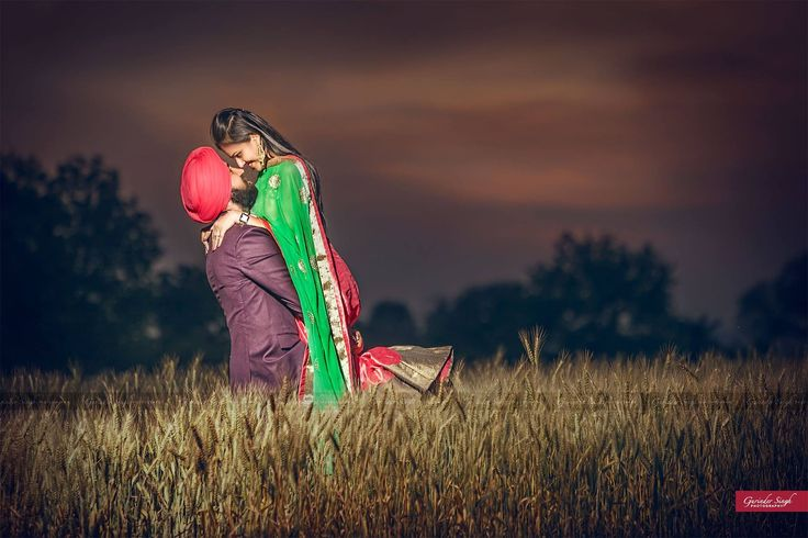 sikh, couple, prewedding, farms, punjab, sunset, indian
