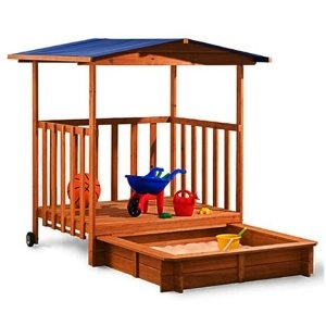 pull-out sandbox...now in our garden & my son love it :-)