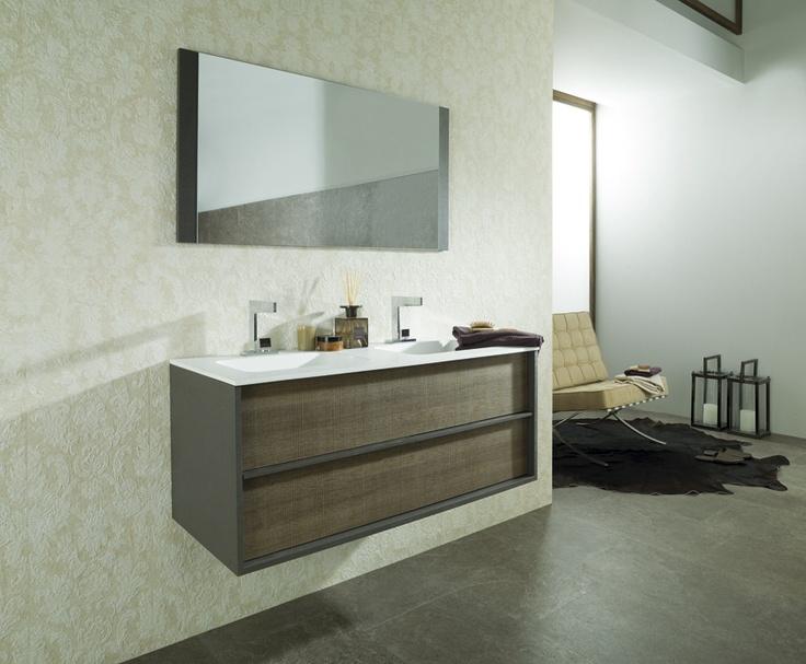 Una de las nuevas colecciones de mobiliario para ba o que - Muebles de bano porcelanosa ...