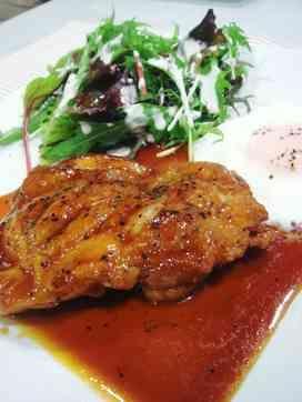 鶏モモ肉ステーキオイスター味