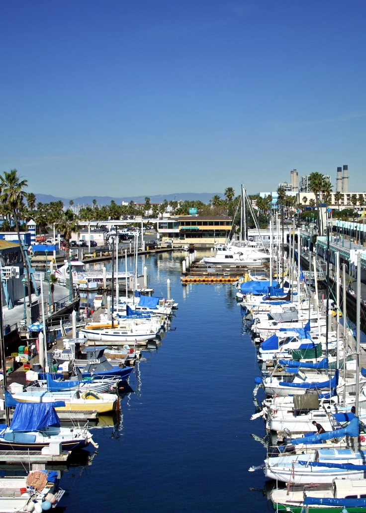 The Beautiful Redondo Beach Marina!