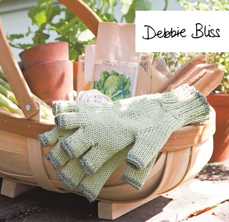 Gardener's Gloves (free knitting pattern)