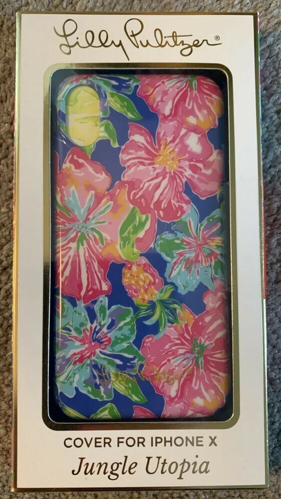 outlet store 276d3 2201d Lilly Pulitzer Jungle Utopia iPhone X Phone Case #afflink | Phone ...