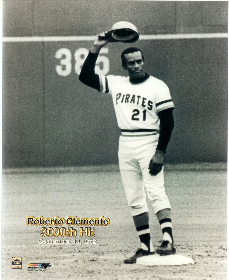 Roberto Clemente Pirates 8x10 Photo Vintage Baseball Team Game Hof Mlb