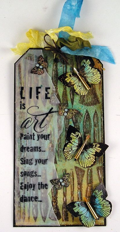 Life is art. Paint your dreams...Sing your songs...Enjoy the dance.