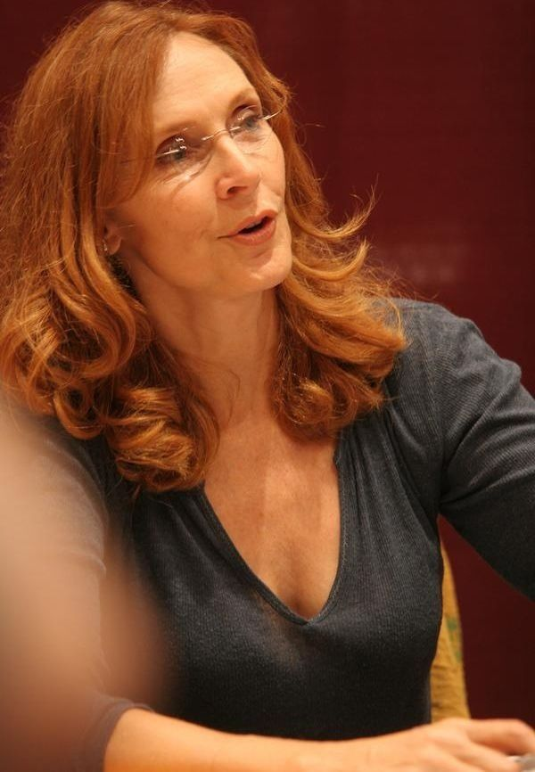 Gates McFadden out of character.