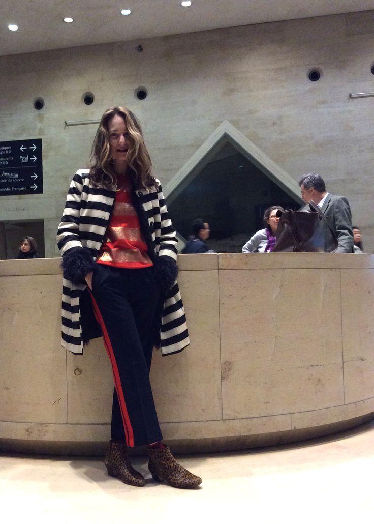 #waitandseestyle #pfw @tranoi_show #lavitaébella BUYING #AW15 4d